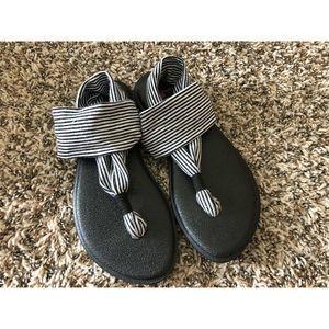 Sanuk Yoga Sling Sandals Comfortable Youth 2-3